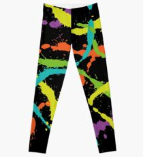 Splattered ~ SPLATOON [BLACK] Leggings