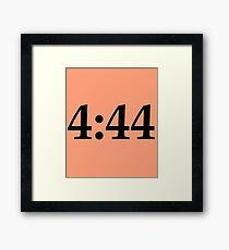 4:44 Jay-Z Framed Print