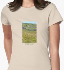 Flowers emerge from stone, stone from flowers T-Shirt