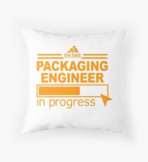 PACKAGING ENGINEER BEST COLLECTION 2017 Throw Pillow