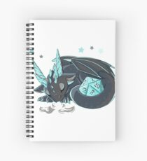 Dice Dragon Spiral Notebook