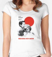 Hiroshima Tailliertes Rundhals-Shirt