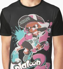 Splatoon 2 Inkling Girl Graphic T-Shirt