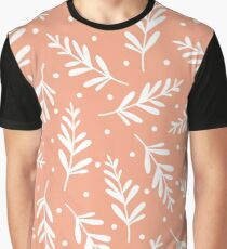 Awesome autumn dotted leaves Graphic T-Shirt