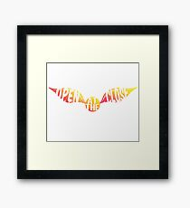 Snitch Framed Print