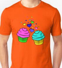 For The Love Of Cupcakes No. 2 Unisex T-Shirt