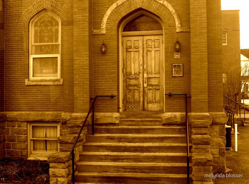 door way by melynda blosser