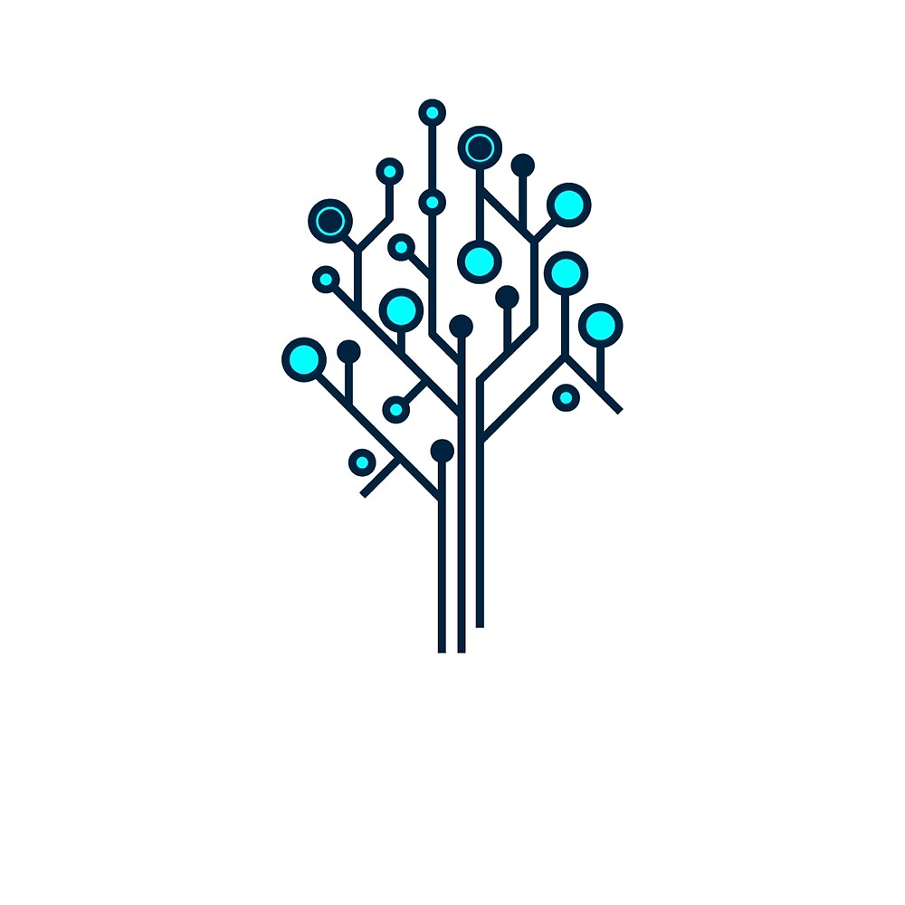Data Tree Graphic Icon by XactDose