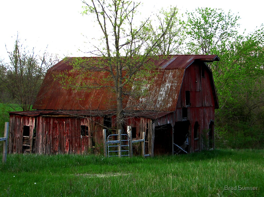 Big Red Barn on the Broad Side! by Brad Sumner