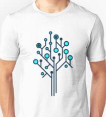 Data Tree Graphic Icon Unisex T-Shirt