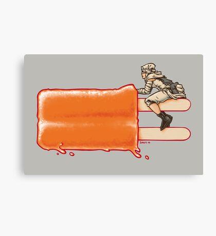 Popsicle Landspeeder Canvas Print