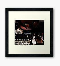 Steampunk Reflection Framed Print