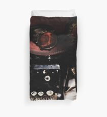Steampunk Reflection Duvet Cover