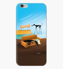 Greylvador Dali iPhone Case