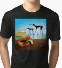 Greylvador Dali Tri-blend T-Shirt