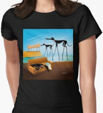 Greylvador Dali Women's Fitted T-Shirt