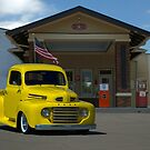 1948 Ford F1 Pickup Truck by TeeMack