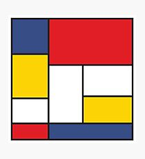 In the Style of Mondrian Photographic Print