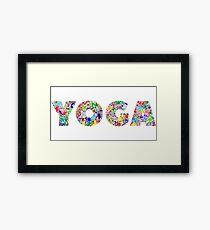 Zen Yoga Framed Print