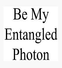 Photon Entanglement Photographic Print