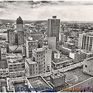 Downtown Dayton 1978 by steeber