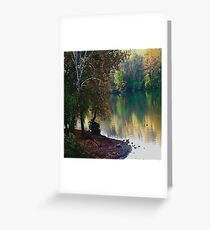 quiet place Greeting Card