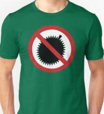 NO Durian Tropical Fruit Sign T-Shirt