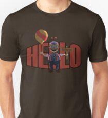 Hello (Balloon Boy) Slim Fit T-Shirt