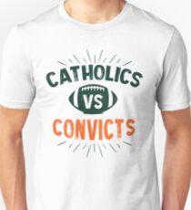 catholics vs Convicts T-Shirt