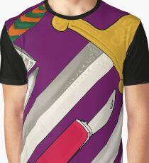 Sharp! in mystic purple Graphic T-Shirt