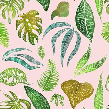 Tropical Pink - Designed & Illustrated by Laura Tubb by lauratubb