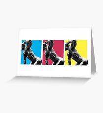 #colorblocking Greeting Card