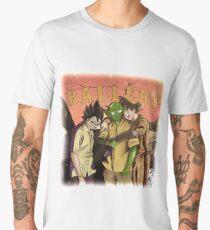 Paid in Full as Piccolo, Goku and Vegeta Men's Premium T-Shirt