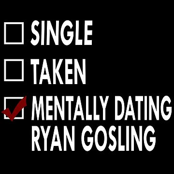 Mentally dating Mr Gosling by Sasya
