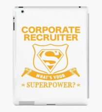 CORPORATE RECRUITER BEST COLLECTION 2017 iPad Case/Skin