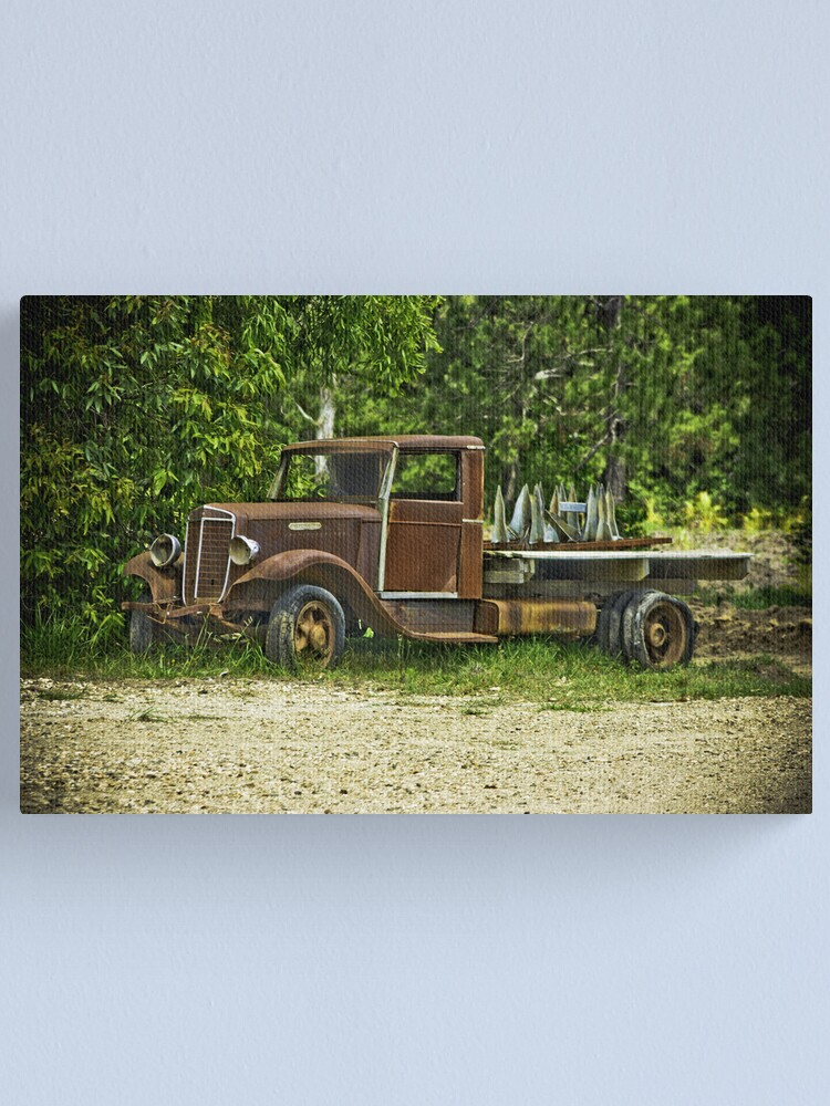 Alternate view of Keep on Trucking. Canvas Print