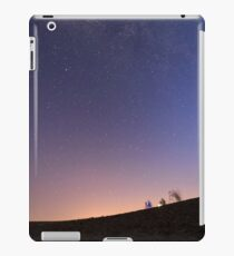 Long exposure of the Milky Way. Photographed in the Negev Desert, Israel  iPad Case/Skin