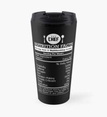 CHEF NUTRITION FACTS Travel Mug