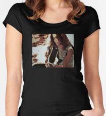 Sheryl Crow Women's Fitted Scoop T-Shirt