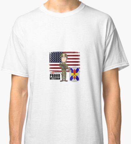 256 Infantry- Proud Veteran Classic T-Shirt