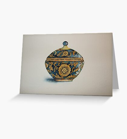 The Imperials 'Miniature' Round Urn No 4 © Patricia Vannucci 2008  Greeting Card
