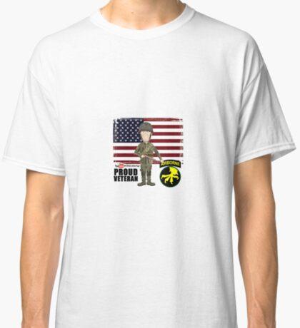 17th Airborne Division- Proud Veteran Classic T-Shirt