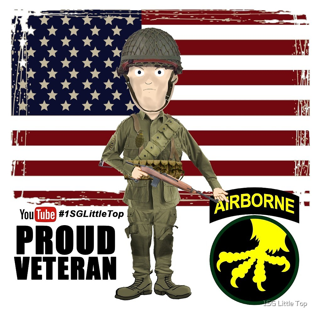 17th Airborne Division- Proud Veteran by 1SG Little Top