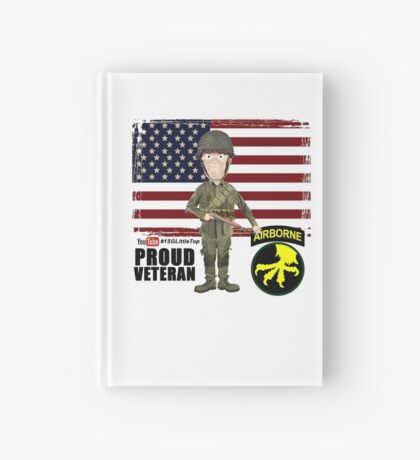 17th Airborne Division- Proud Veteran Hardcover Journal