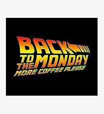 More Coffee Please Photographic Print