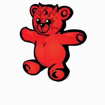 """Darth Ted"" cartoon tee shirt by JasonTowers"