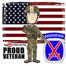 10th Mountain- Proud Veteran by 1SG Little Top