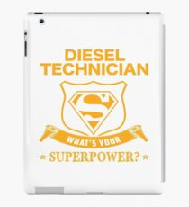 DIESEL TECHNICIAN BEST COLLECTION 2017 iPad Case/Skin