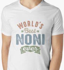 Best Noni  Men's V-Neck T-Shirt