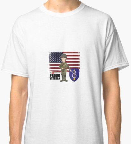 8th Infantry- Proud Veteran Classic T-Shirt